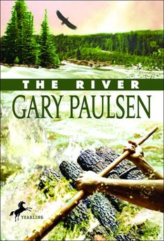 Gary Paulsen, The River. Brian goes back to the wilderness, researcher in tow, to show the world how he survived before. Hatchet Book, Good Books, My Books, Gary Paulsen, Bookshelves Kids, Down The River, Summer Reading Lists, Boys Life, Books For Teens