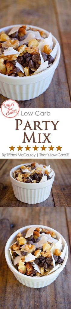 Low Carb Recipes | Party Mix Recipes | Low Carb Party Mix