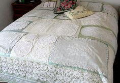 Doily quilt | Over the years I have collected doilies from m… | Flickr
