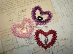 ~ @ ~ @ Valentines in 20 minutes. Express MK | biser.info - all about beads and bead work