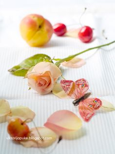 the flowers, butterflies, peaches, and cherries, the Lord God made them all, and they are beautiful!