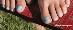 Behind the Scenes: Sand On Your Toes Nail Art