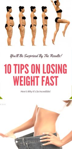 10 TIPS ON LOSING WEIGHT FAST