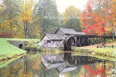 Mabry Mill   Meadows Of Dan VA  Blue Ridge by ArtGalleryRiverRd