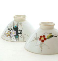 Vintage Japanese Porcelain Plum Blossom by TheOtherLifeVintage