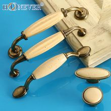 Beige Ceramic Door Handles Antique Furniture Knobs and Handles for Kitchen… Furniture Knobs, Antique Furniture, Knobs And Handles, Door Handles, Vintage Drawer Pulls, Country Living, Can Opener, Drawers, China
