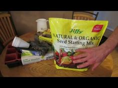MFG 2016: Starting Vegetable Seeds Indoors: Seed Starting Mixes, Cells/T...