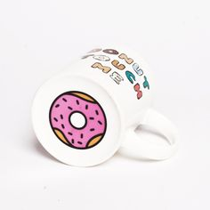 Donut Graphic Mug - Dining - Living