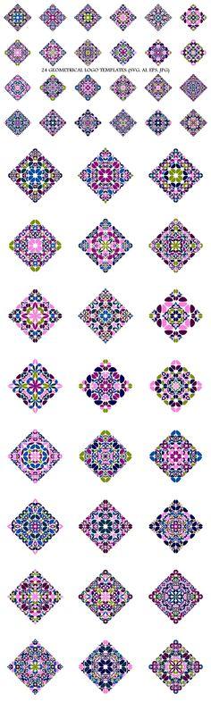 24 Floral Square Logo Templates #geometrical #GeometricalLogo #logotemplates #badge #floralgraphic #multicoloredgraphic #geometrical #LogoDesignTemplate #LogoTemplates #LogoDesignTemplates #AbstractLogoTemplates #logotemplate #AbstractLogo #polygon #LogoDesign #logos #square #purplegraphic Logo Design Template, Logo Templates, Vector Design, Abstract Logo, Geometric Logo, Best Logo Design, Graphic Design, Square Logo, Logo Background