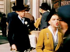"Fred Astaire and Judy Garland from ""Easter Parade"""