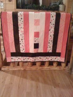 Loved the quilt as you go pattern and the minke fabric!