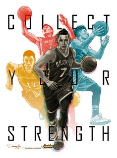 Jeremy Lin 'Collect Your Strength' Illustration - Hooped Up