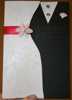 Craftin' Up! with Stampin' Up Demonstrator, Kelly Ward » Blog Archive » Bride and Groom Wedding Card