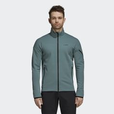 bec2713e3aa adidas Climaheat Ultimate Fleece Jacket - Green | adidas US