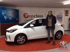 Vincenzo rientra ad Urbino con una nuovissima #Toyota #Yaris #Hybrid My16. Complimenti e Benvenuto in @Toyota!