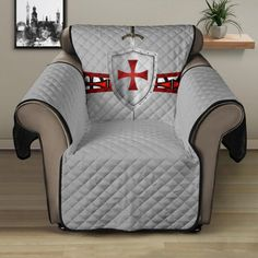 Knights Templar, Sofa Protector, Reclining Sofa, Temples, Recliner, Stitch Patterns, Armchair, Cozy, Flooring