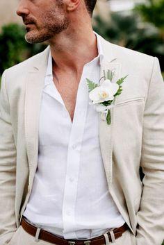 The Most Popular Groom Suits ❤ See more: http://www.weddingforward.com/groom-suits/ #weddings