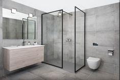19 New Ideas Bathroom Vanity Industrial Shower Doors Bathroom Styling, Bathroom Interior Design, Modern Bathroom, Small Bathroom, Bathrooms, Industrial Shower Doors, Small Shower Room, Bathroom Showrooms, Bad Styling