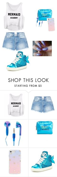 """""""Mermaid woman"""" by kristinehusk ❤ liked on Polyvore featuring Frame, Pinch Provisions, Sonix and Miss KG"""