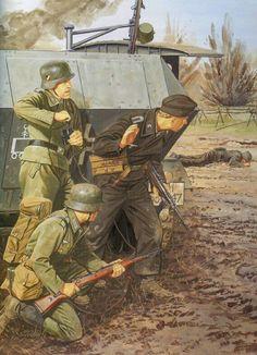 Pioneer troops