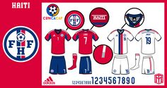 Believe it or not, but this isn't my first Haiti soccer concept. Haiti Soccer, Us Soccer, Football Fonts, Association Football, Tribal Patterns, Sports Logo, Logos, August 2014, Caribbean