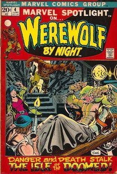 Werewolf By Night Marvel Comic