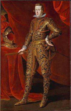 Philip IV (1605–1665) in Parade Armor  Attributed to Gaspar de Crayer  (Flemish, 1584–1669)