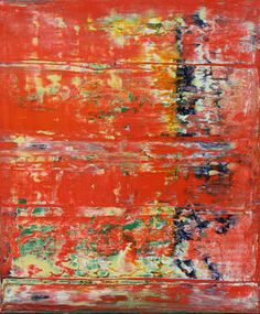 Abstract painting by Harry Moody