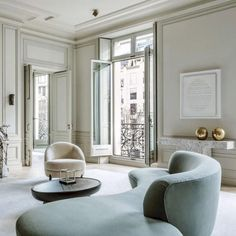 Awesome Parisian Chic Apartment Decor Inspirations - Page 91 of 108 Design Hall, Canapé Design, House Design, Design Trends, Light Design, Design Blogs, Design Ideas, Classic Interior, Best Interior Design