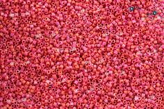 Miyuki 11/0 Delica Seed Beads - Matte Opaque Red Luster (C) [ DB0362]