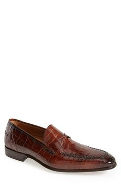Alligator Penny Loafer (Men)