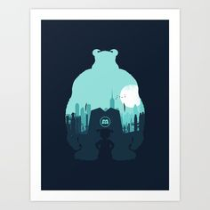 Welcome To Monsters, Inc. Art Print by Filiskun. Worldwide shipping available at Society6.com. Just one of millions of high quality products available.