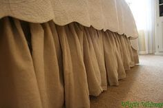 Bed Skirt (including instructions)
