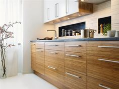 Contemporary-bright-bamboo-kitchen-furniture