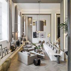MODERN INTERIOR DESIGN PROJECTS|. Kelly Hoppen ‎project‬ at London UK  | bocadolobo.com/ #contemporarydesign #contemporarydecor