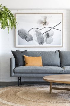 Our Louis sofa in Cotton fabric by Elliot Clarke.  Super-relaxed and super comfy!  #simpledesign #masculineinteriors #tanleather #tanleathersofa #vinylsofa #designerfurniture #mancave  #minimal #loungeroom #interiordesign #mancave  #loungeroom #livingroom   #corporateinteriors #commercialinteriors  = #livingroom