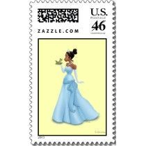 US Stamp - Princess Tiana