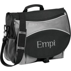 Promotional Products Ideas That Work: Stretch Compu-Mesenger Bag  . Get yours at www.luscangroup.com