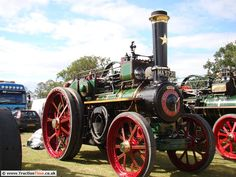 1910 Foster Traction Engine (MA5730) Winnie 6nhp Engine No 12539