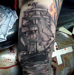3D Boat Tattoo - 100 Boat Tattoo Designs <3 <3