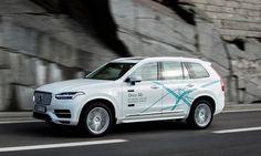 Тестовый кроссовер Вольво СХ90 (Volvo CX90) с автономным управлением Volvo планирует автономно управляемые автомобили к 2021 году бросая вызов BMW   Новости автомира на dealerON.ru
