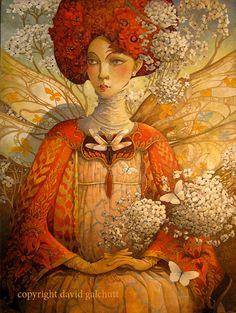 the distracted fairy van artmeister op Etsy