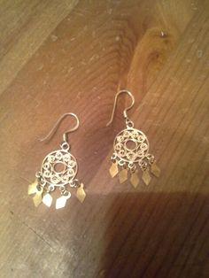 Real stamped earrings!
