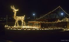 Going to decorate Rum Runner II again for the Lighted Boat Parade on November 29, 2013