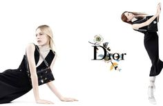 Julia Nobis & Natalie Westling for Christian Dior SS 2015 Campaign by Willy Vanderperre 1