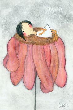 Flower Bed | Carla Sonheim