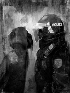 New World Order. We must resist control. Acab Tattoo, Arte Punk, Graffiti, Political Art, New World Order, Banksy, Anarchy, Artist Art, Urban Art