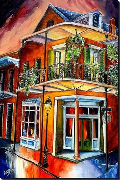 - Goodnight New Orleans by Diane Millsap - #artwork #art #neworleans http://www.pinterest.com/TheHitman14/artwork/