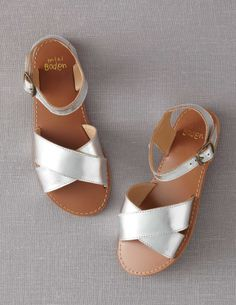 Leather Sandals - mini boden