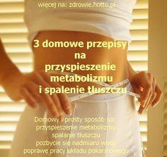 zdrowie.hotto.pl-jak-przyspieszyc-metabolizm-spalic-tluszcz-schudnac Ga In, Easter Recipes, Easter Food, Health And Beauty, Food And Drink, Health Fitness, Drinks, Slim, Juices